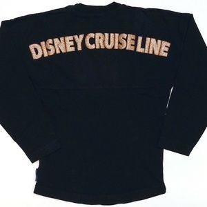 Disney Cruise Line Navy & Rose Gold Spirit Jersey